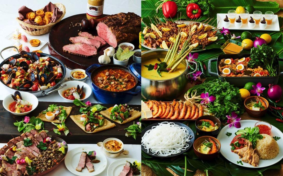 横浜ロイヤルパークホテル「シリウス」世界食の旅をテーマにオーダーブッフェ開催!