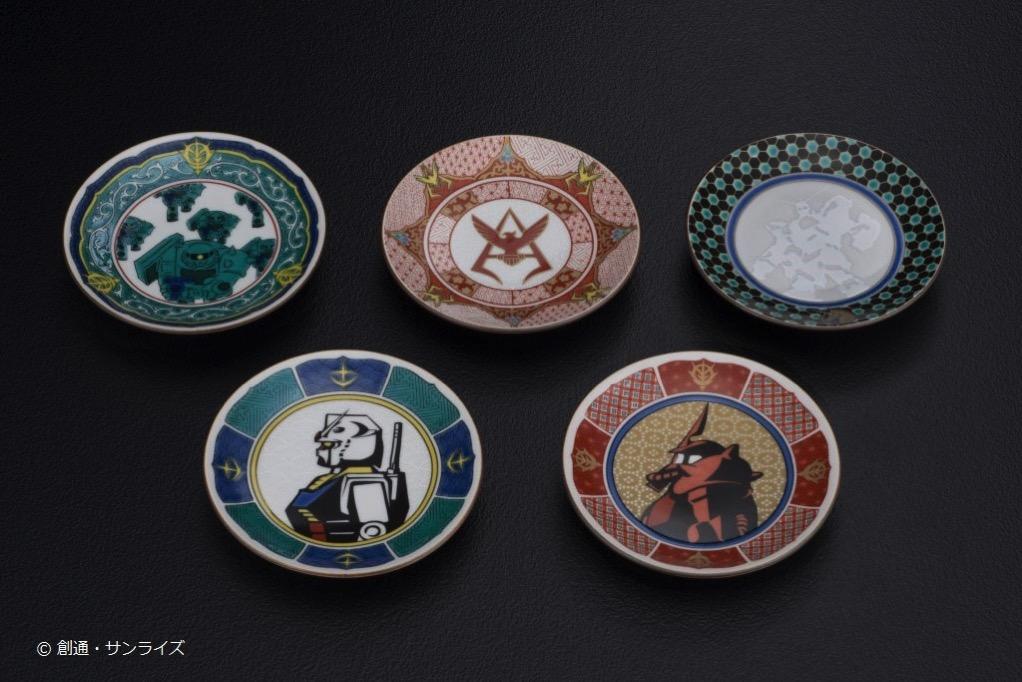 九谷焼豆皿 5種