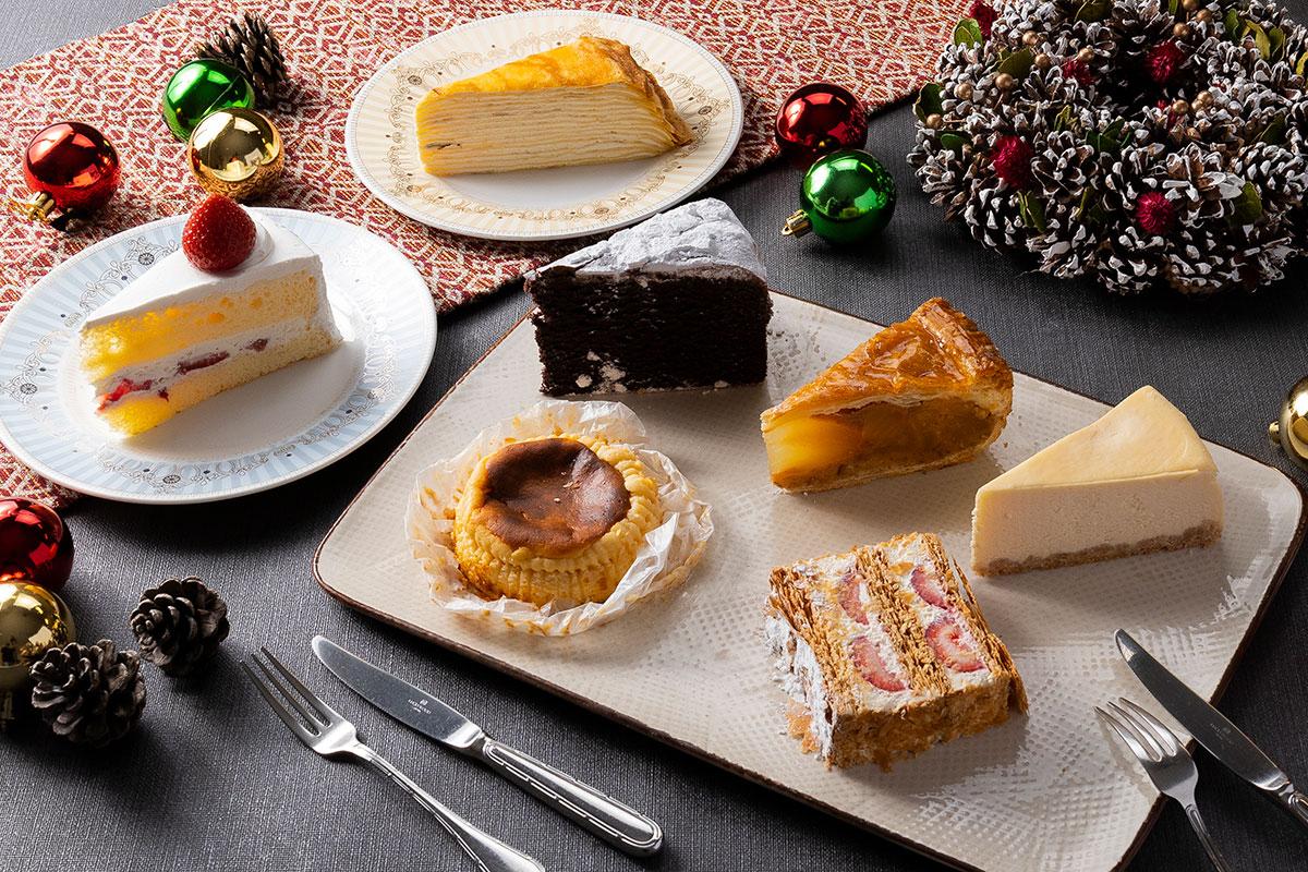 選べる5種類のケーキセット
