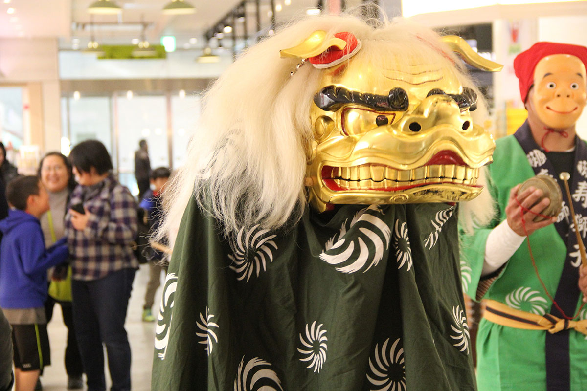 新春 獅子舞
