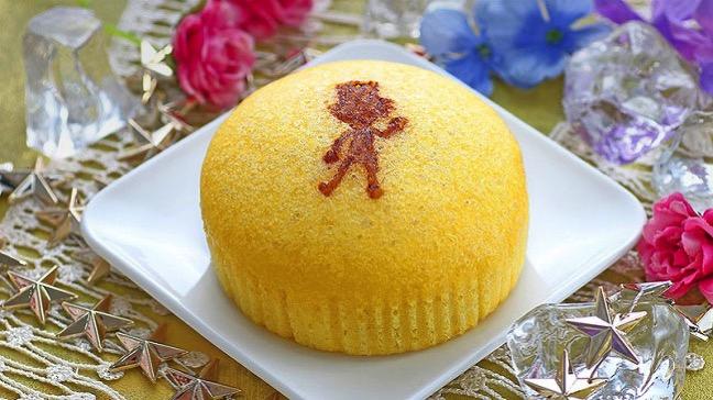 ルビッチのふわふわたまご蒸しケーキ