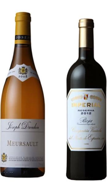 有名三つ星レストラン採用ワイン紅白セット