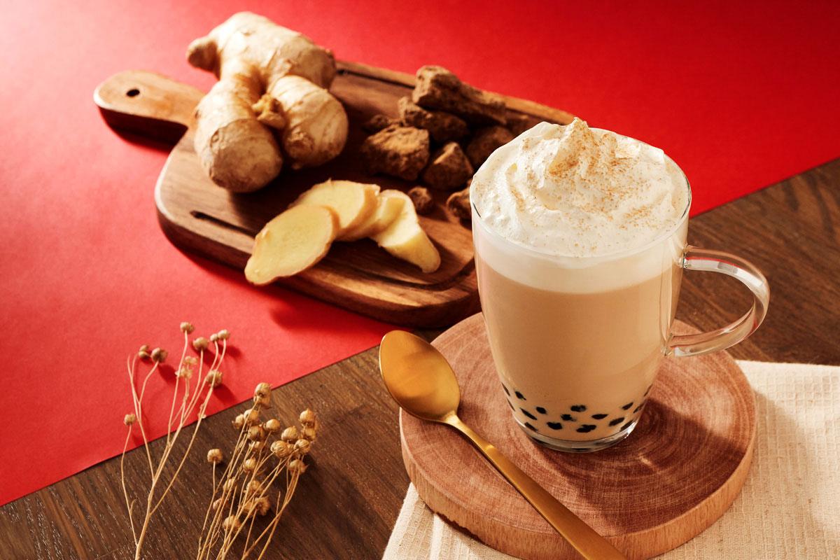 黒糖生姜奶茶(黒糖生姜ミルクティー)
