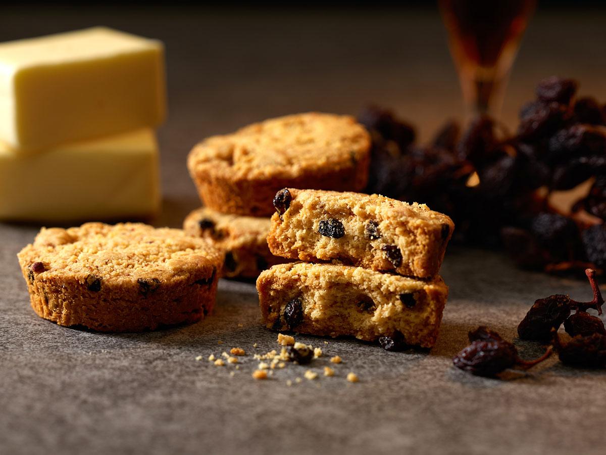 ラムレーズンバタークッキー