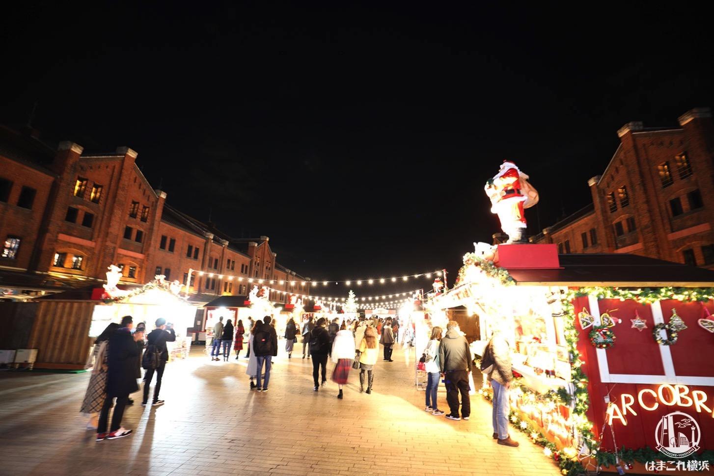 2020年 クリスマスマーケット in 横浜赤レンガ倉庫