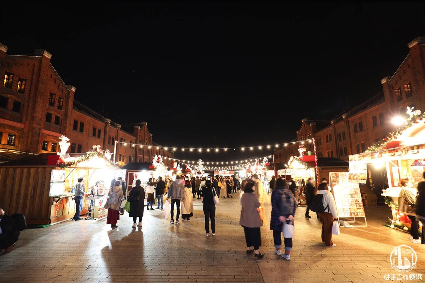 2020年 クリスマスマーケット in 横浜赤レンガ倉庫 会場