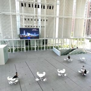横浜市役所 アトリウム