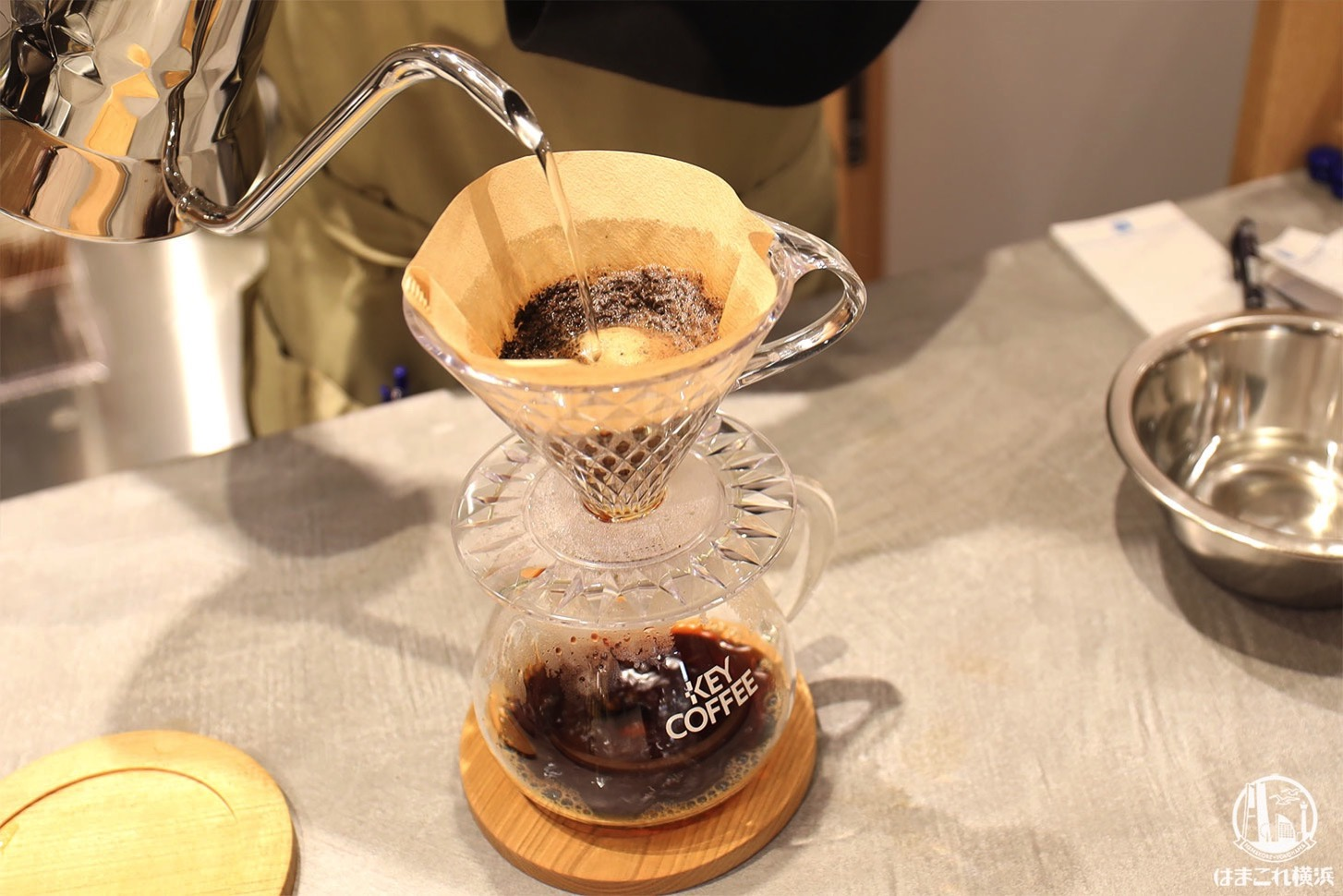 コーヒービーンズ クレ ド ヨコハマ ハンドドリップ