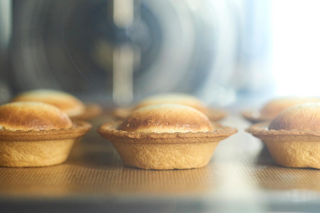 キャラメルりんごのチーズタルトタタン