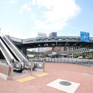 横浜・新港サークルウォークにエスカレーター!新港ふ頭客船ターミナルに続くデッキは検討中
