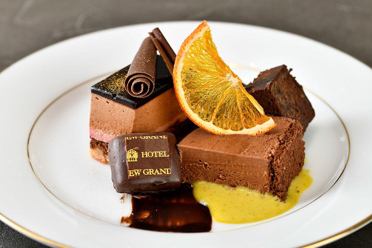 チョコレートアフタヌーンティー 中段