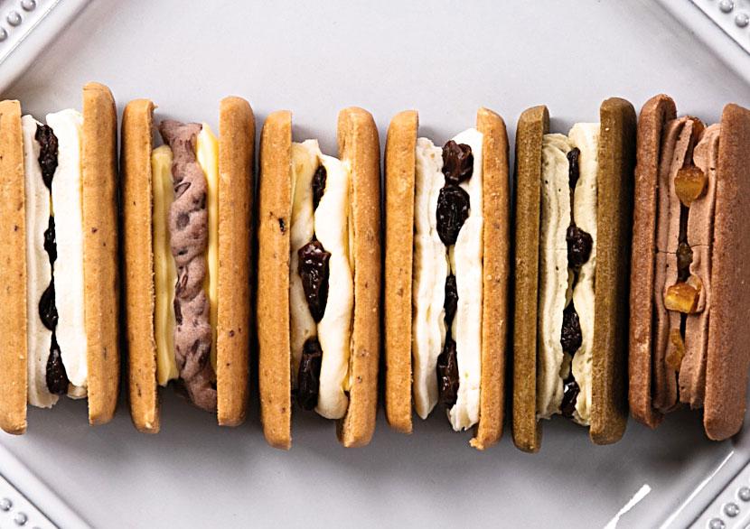 オーツクッキー バタークリーム フィリングセレクション