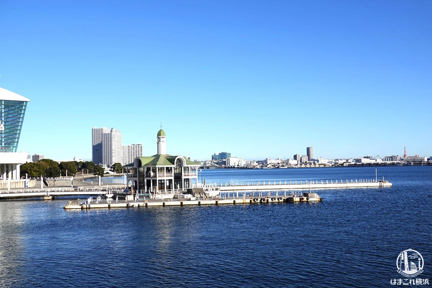 女神橋から見た ぷかり桟橋