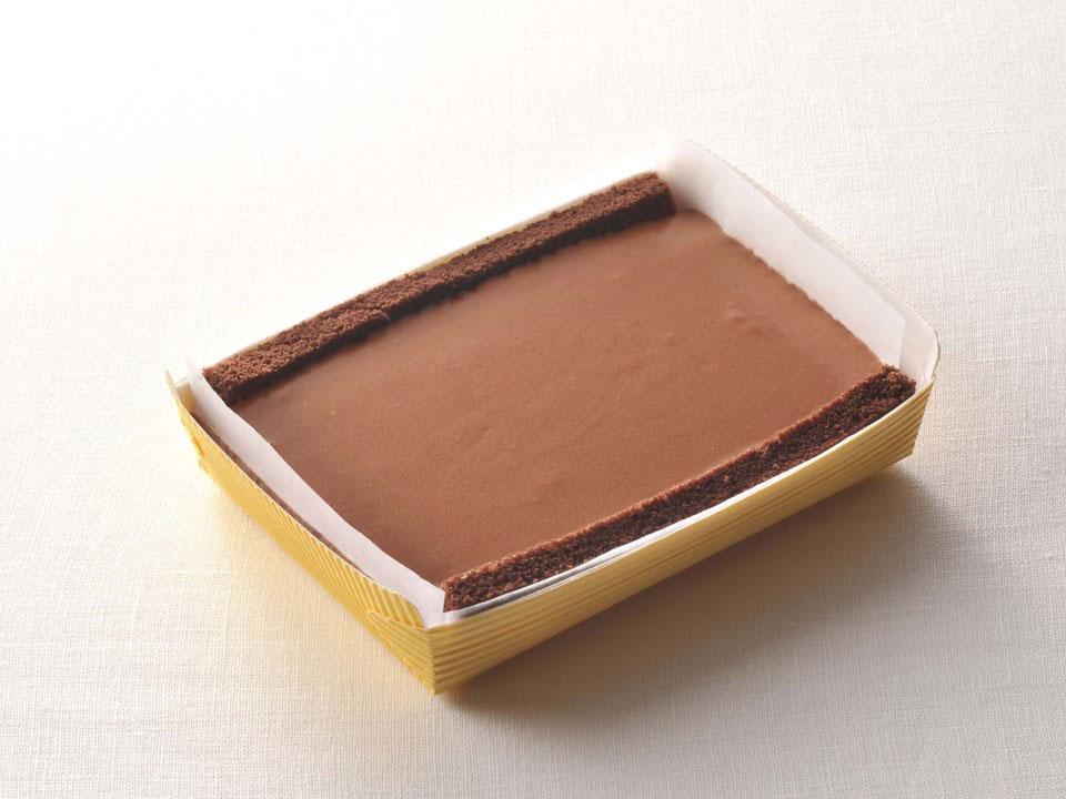 チョコレートレアチーズケーキ(スクエア)