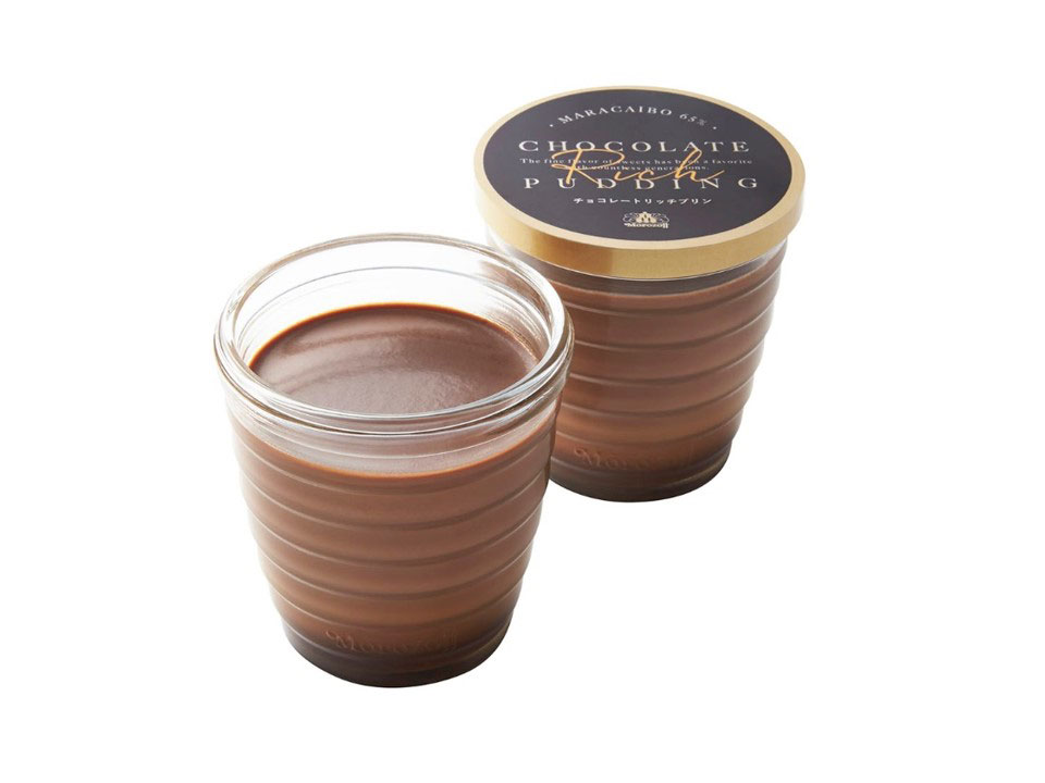 チョコレートリッチプリン