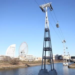横浜のロープウェイにゴンドラ出現!汽車道から運河パーク駅舎まで散歩