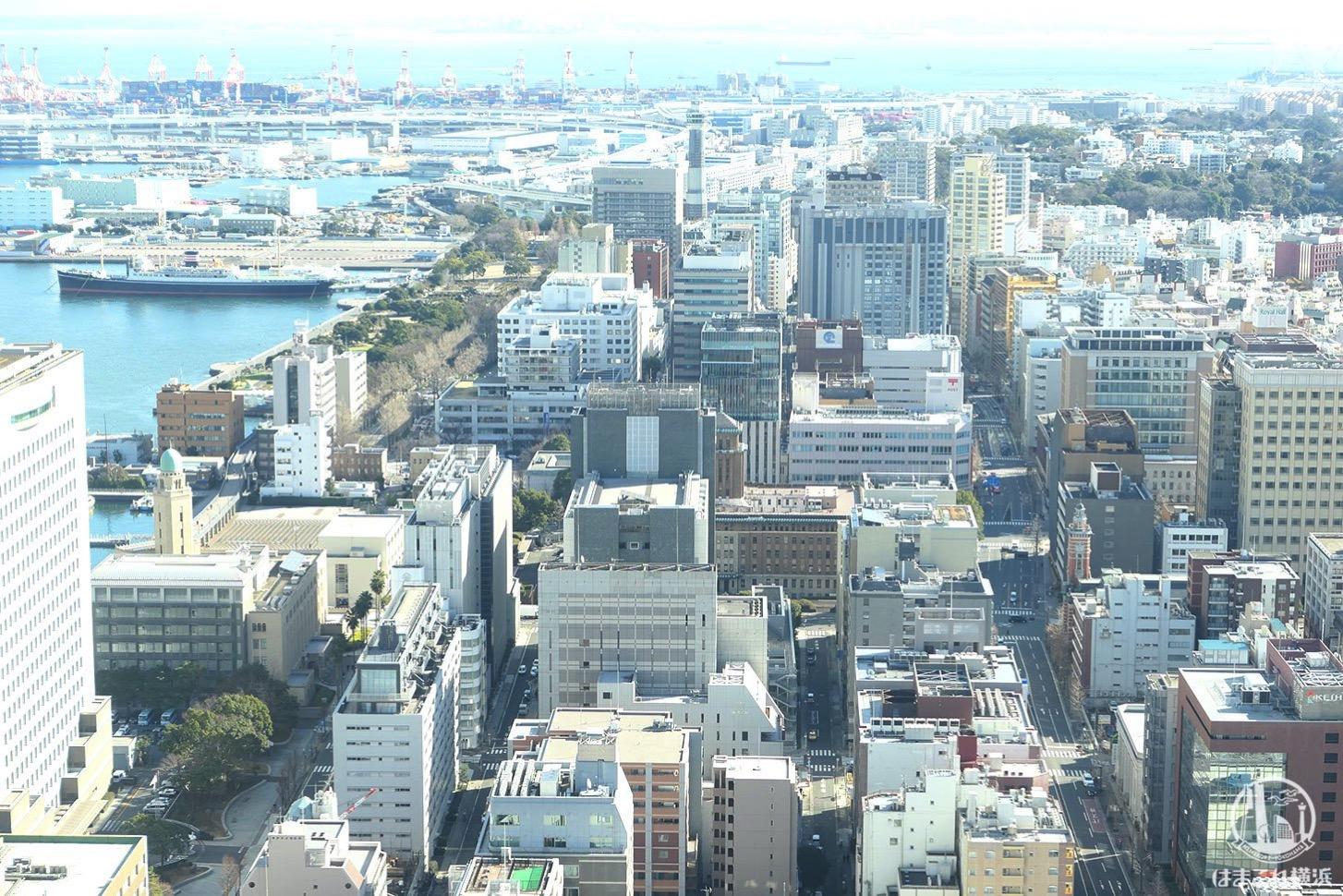 ザ・タワー横浜北仲46階から見た景色