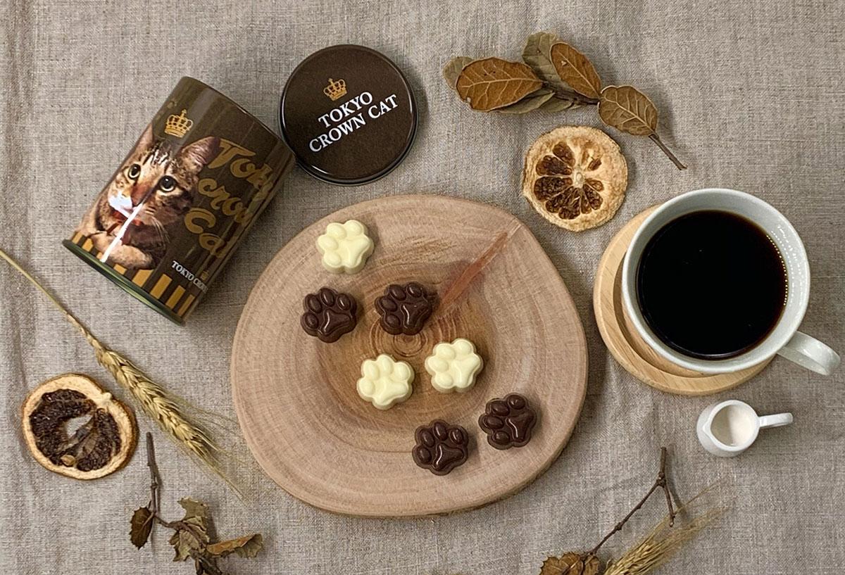 にくきゅうチョコレート