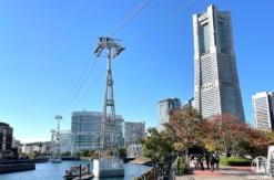 横浜のロープウェイ開業日や営業時間、運賃が決定!2021年4月22日に運行開始