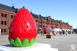 横浜赤レンガ倉庫、2021年の鍋小屋とストロベリーフェスティバル開催中止
