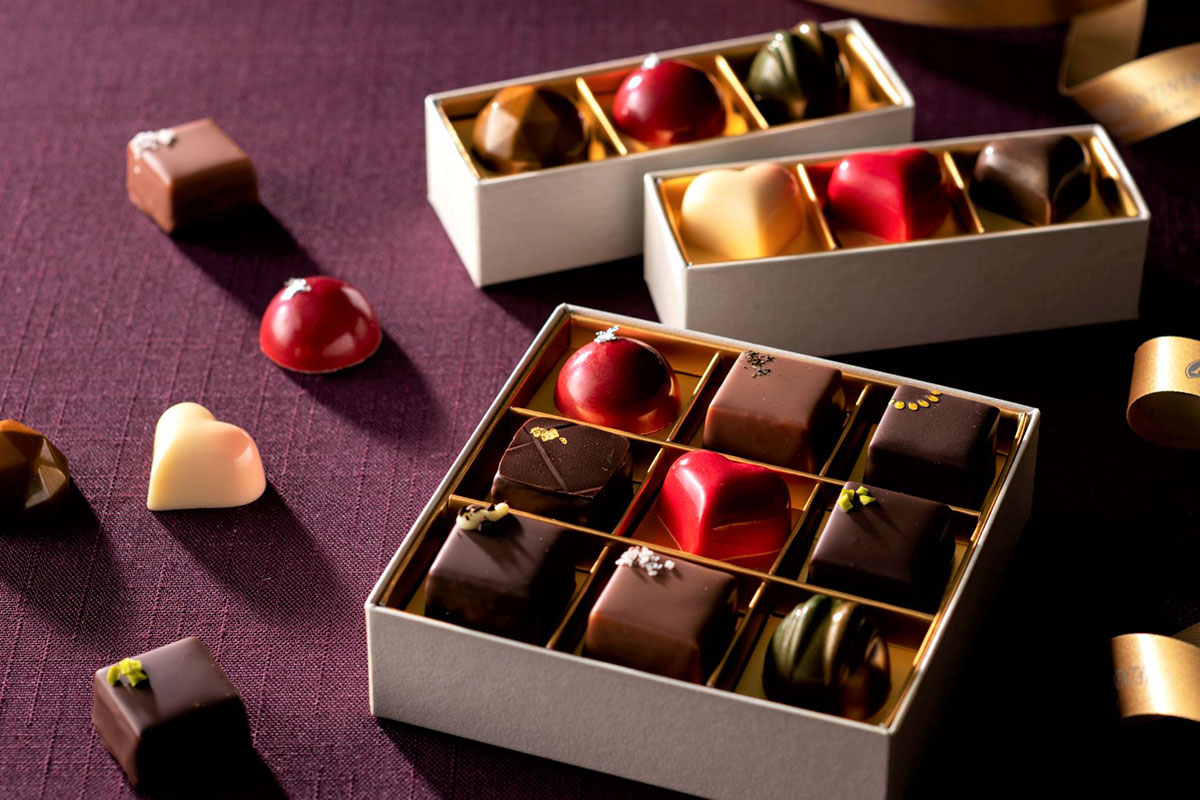 横浜のインターコンチネンタルホテルからバレンタイン限定チョコレート登場!