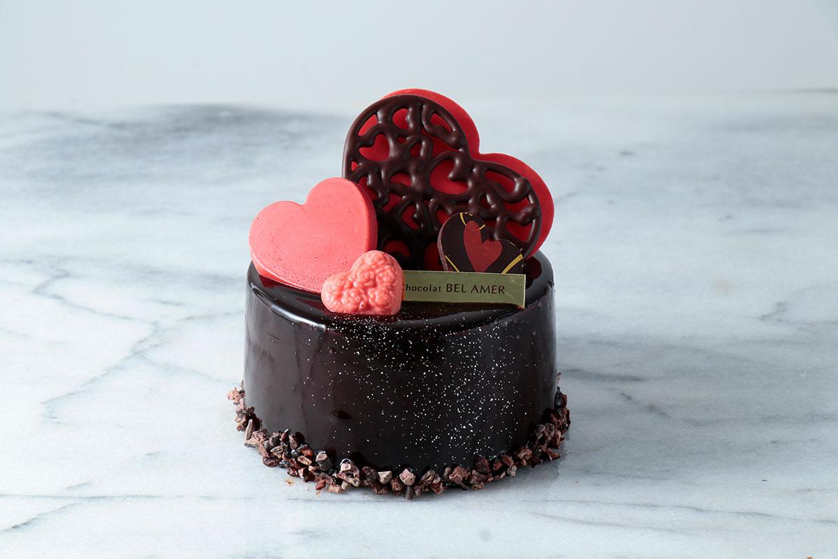 ベルアメールにショコラ専門店ならではのケーキ「ショコラルージュ」そごう横浜店で!