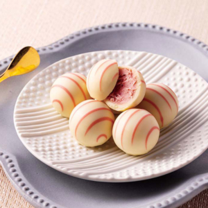 銀のぶどう「苺のトリュフ」そごう横浜店に登場!ホワイトショコラ×苺ガナッシュ