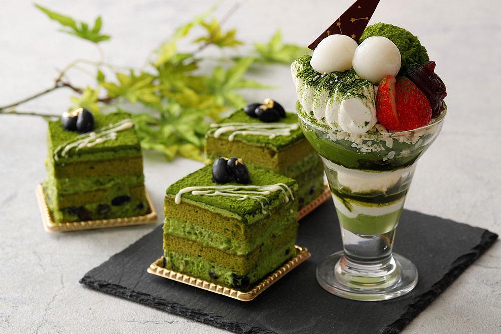 プレミアム抹茶ショートケーキ