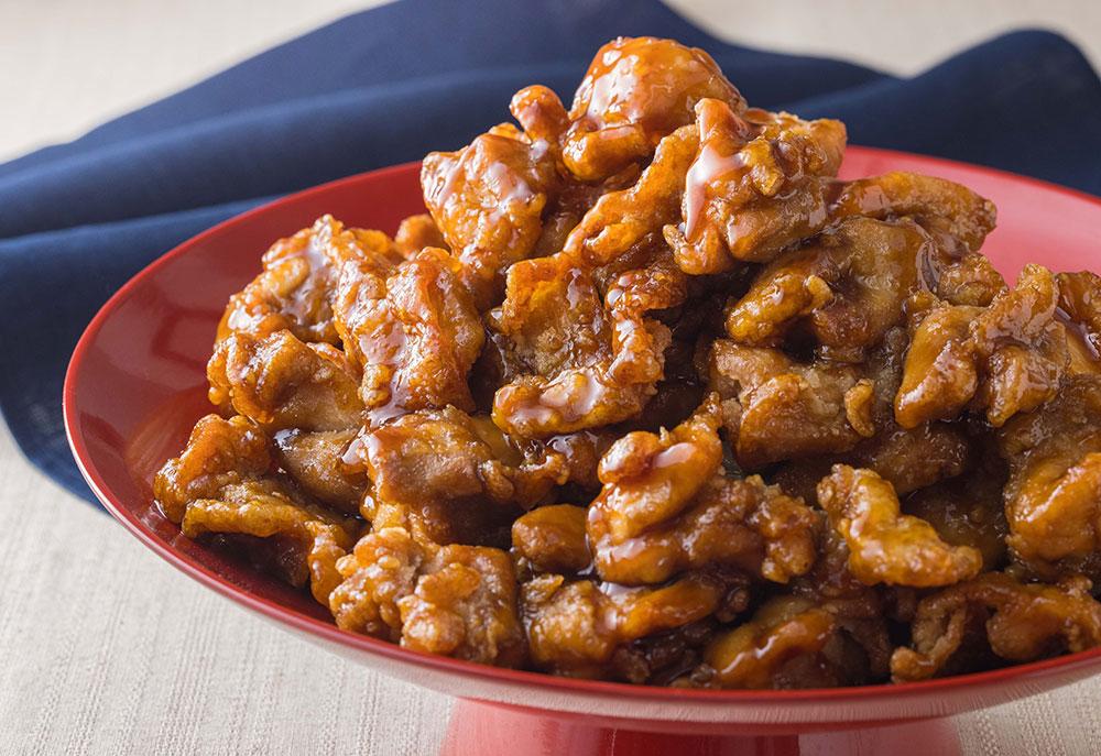 国産鶏の黒酢あん(1パック約100g 税込600円)