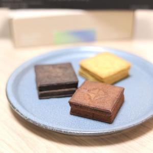 プレスバターサンド横浜高島屋でマルゥと黒のバターサンド購入・チョコ味食べ比べ!