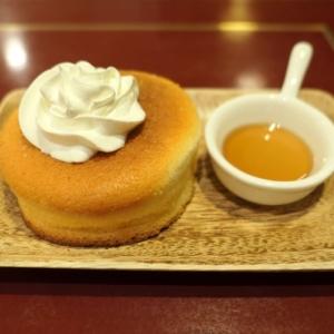 サモアール・横浜ジョイナスに窯焼きスフレパンケーキ!ロイヤルミルクティーとセット