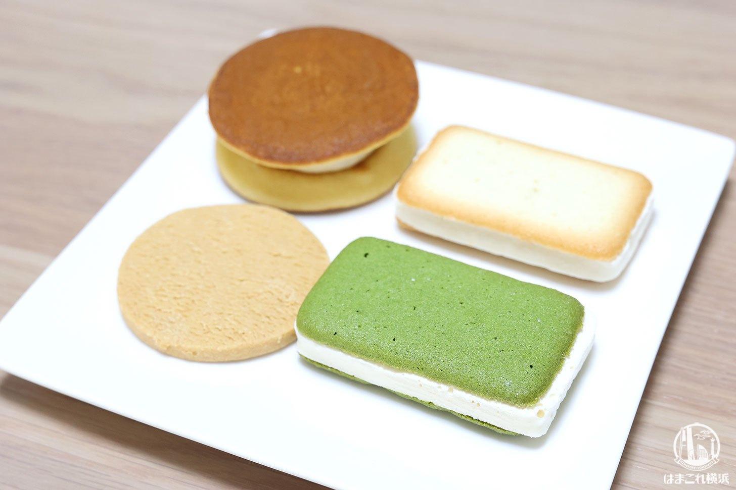 横浜高島屋「菓匠三全」HONMIDOの本実堂サンド・みたらしパンケーキ試し買い!