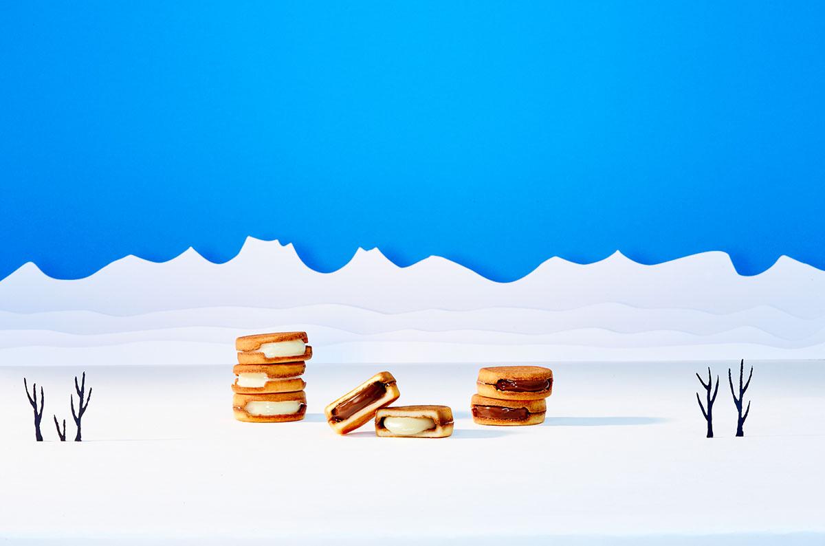 横浜高島屋に「スノーサンド」冬季限定生チョコレートサンドクッキー販売!