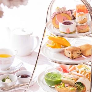 横浜ベイホテル東急「桜アフタヌーンティー」開始!春を彩る満開の桜スイーツ