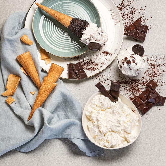 リコッタチーズ&チョコレート