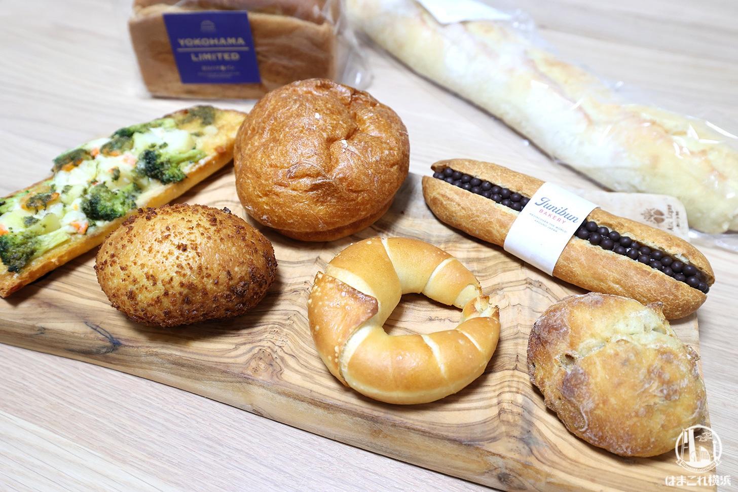 購入したパン
