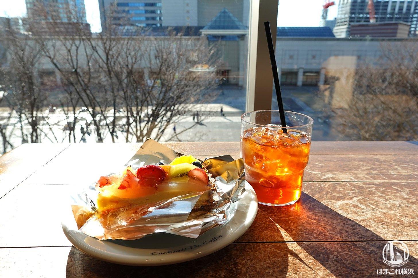 コクテール堂 横浜みなとみらい店はケーキがリーズナブルで居心地良い!マークイズのカフェ