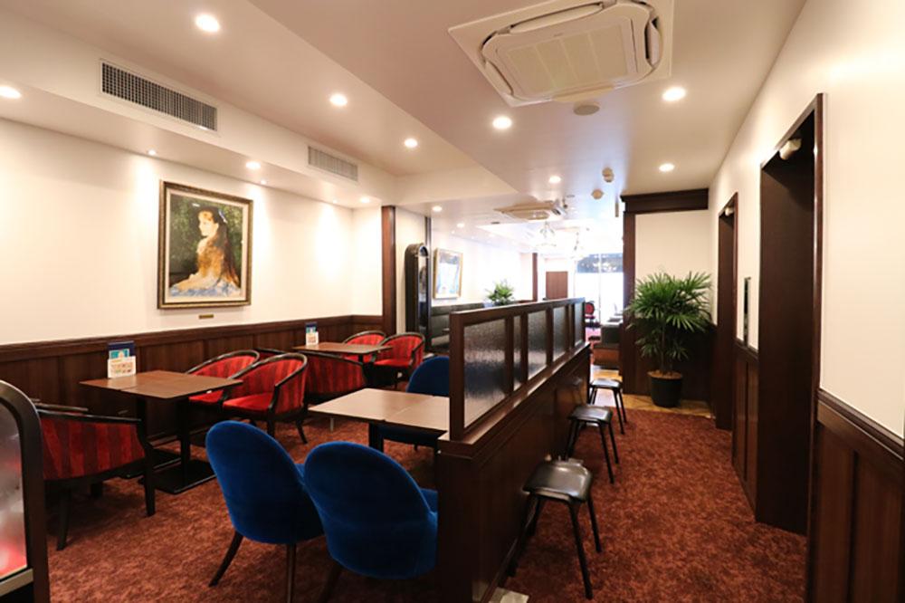 新横浜駅に喫茶室ルノアール開業!昭和モダンを空間コンセプトにしたデザイン
