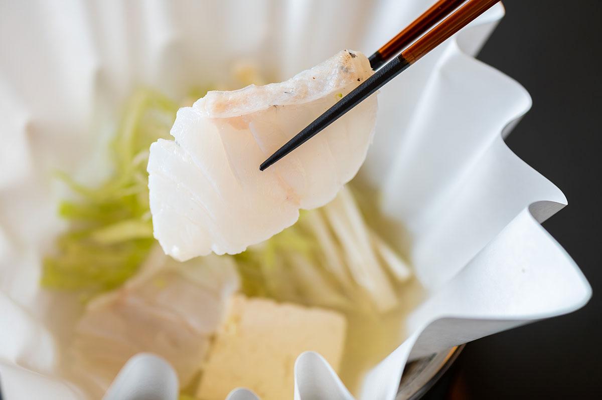 佐賀県産 玄界灘 クエのちり鍋