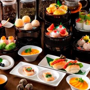 飲茶アフタヌーンティー、横浜インターコンチネンタルホテルに復活!点心やマンゴープリン