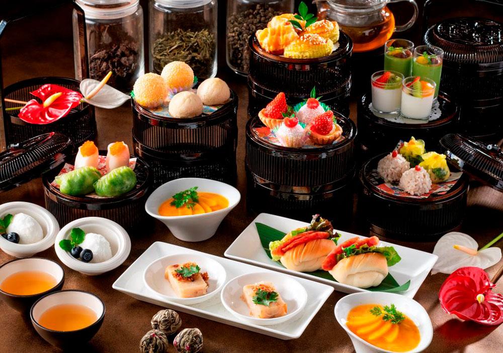 飲茶アフタヌーンティー、横浜インターコンチネンタルホテルに復活!点心やマンゴープリンなど