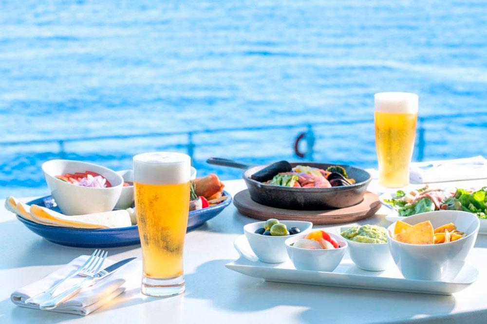 横浜・インターコンチネンタルホテル「海の見えるビアガーデン」GW限定開催!