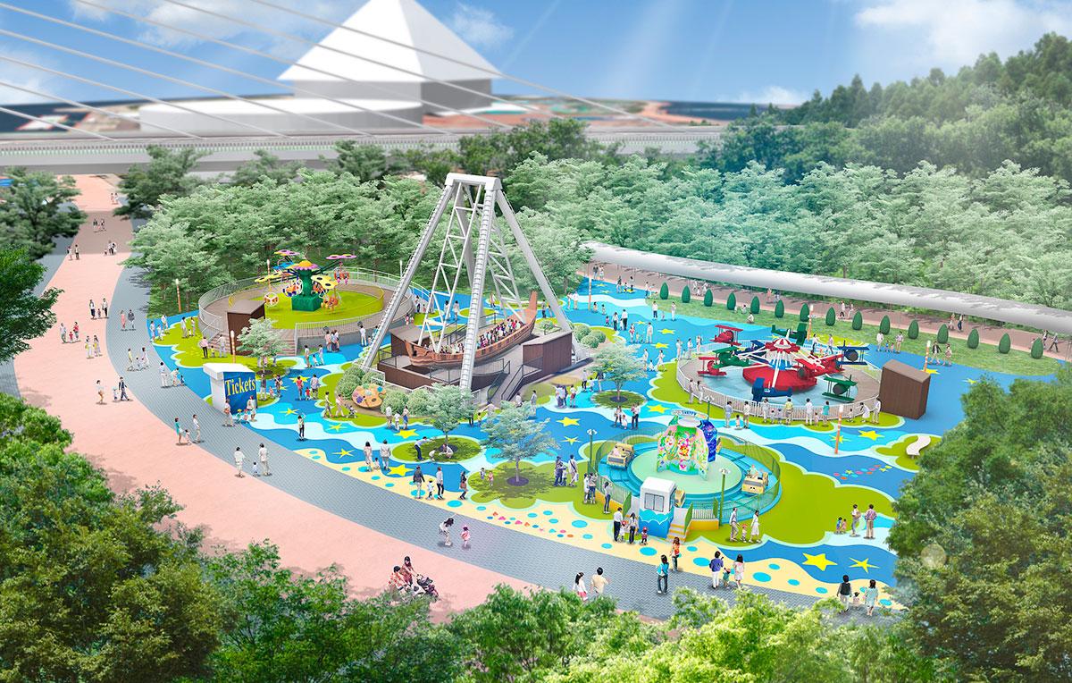 横浜・八景島シーパラダイス「プレジャーランド」一部リニューアル!3つのアトラクション新設