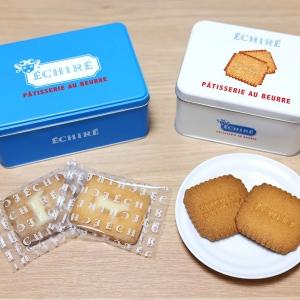 エシレ横浜高島屋で青い缶・白い缶のバターサブレ食べ比べてみた!特徴や食感、個包装など