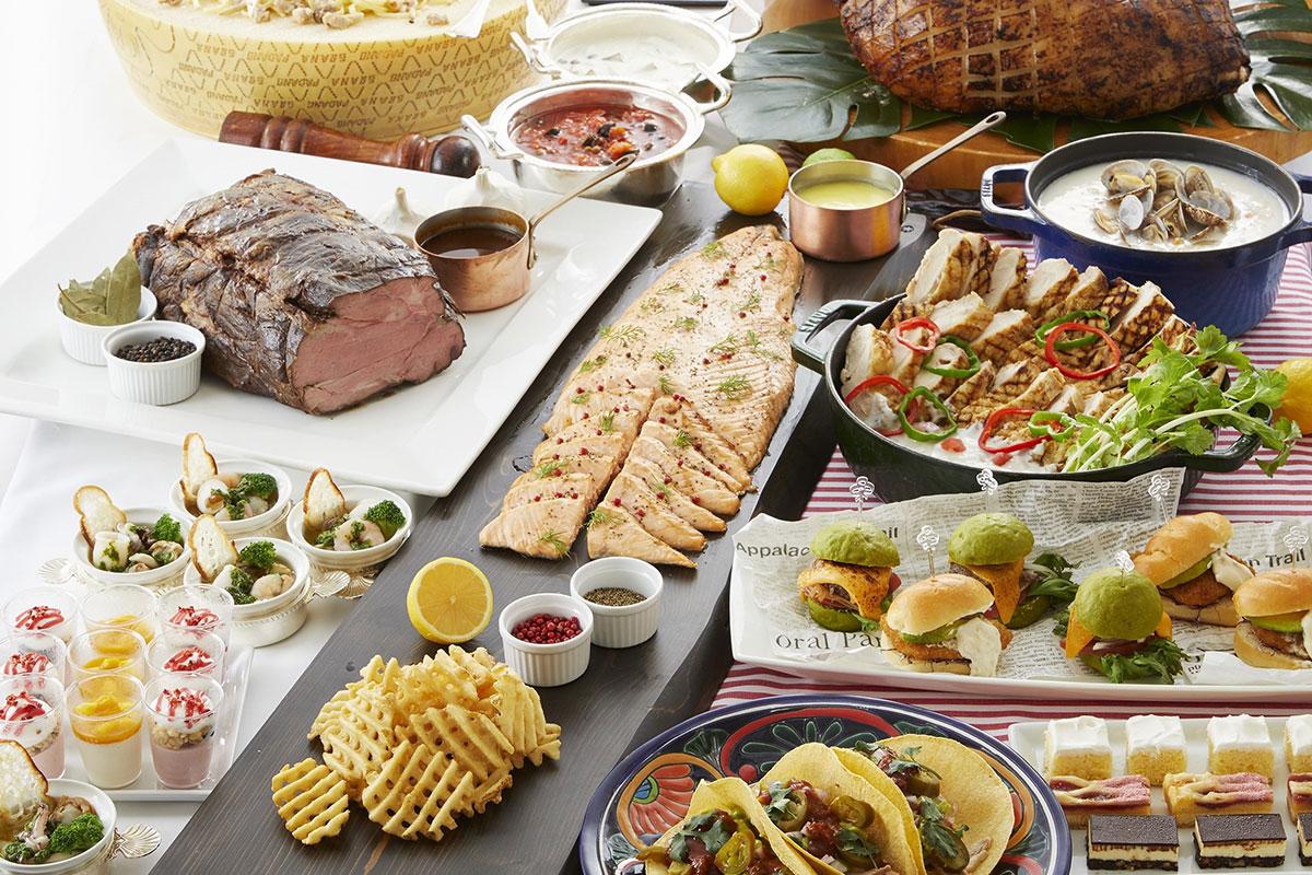 """横浜ロイヤルパークホテル・シリウスで""""世界食の旅""""第2弾!ヨーロッパと北中米の料理をオーダーブッフェで"""