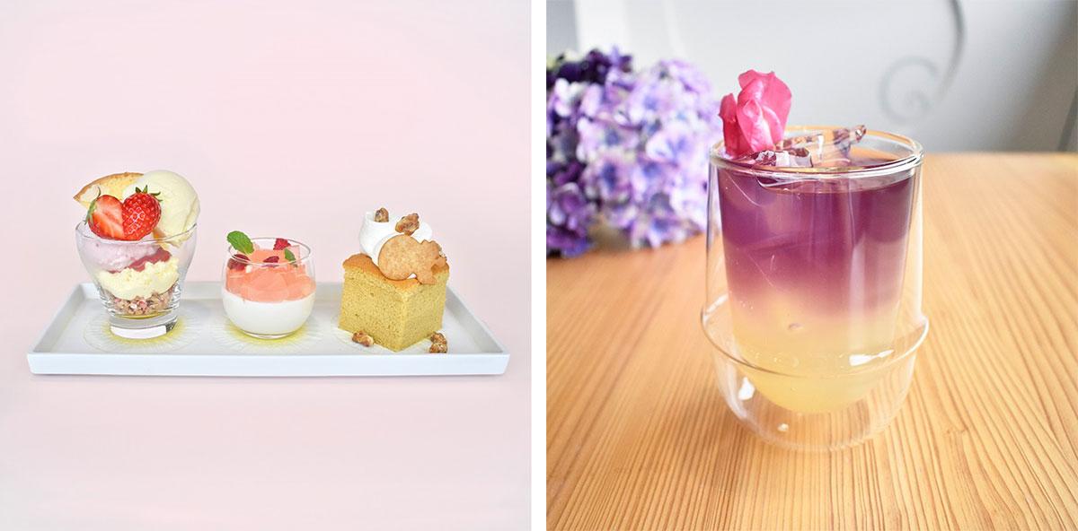 鎌倉紅谷本店で紫陽花をイメージした初夏のスイーツやドリンク提供開始!