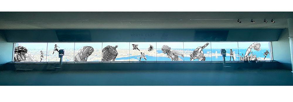 窓面装飾のイメージ