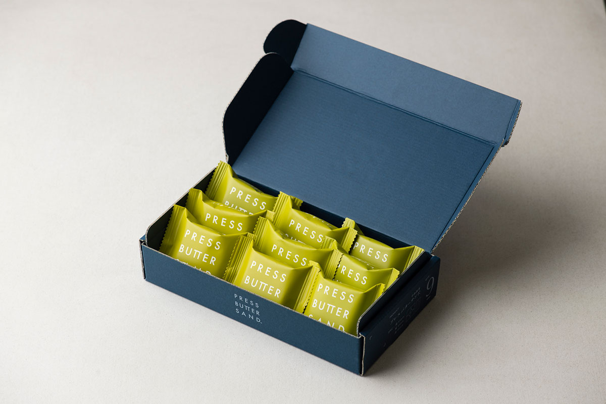 バターサンド〈宇治抹茶〉