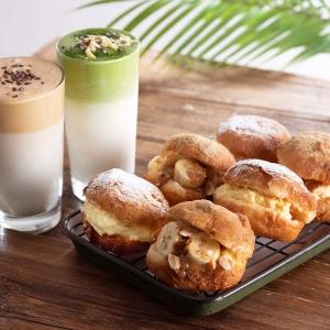 コーヒーショップ「ローステッドコーヒー」ルミネ横浜に!ダルゴナラテとクリーム挟む揚げパン