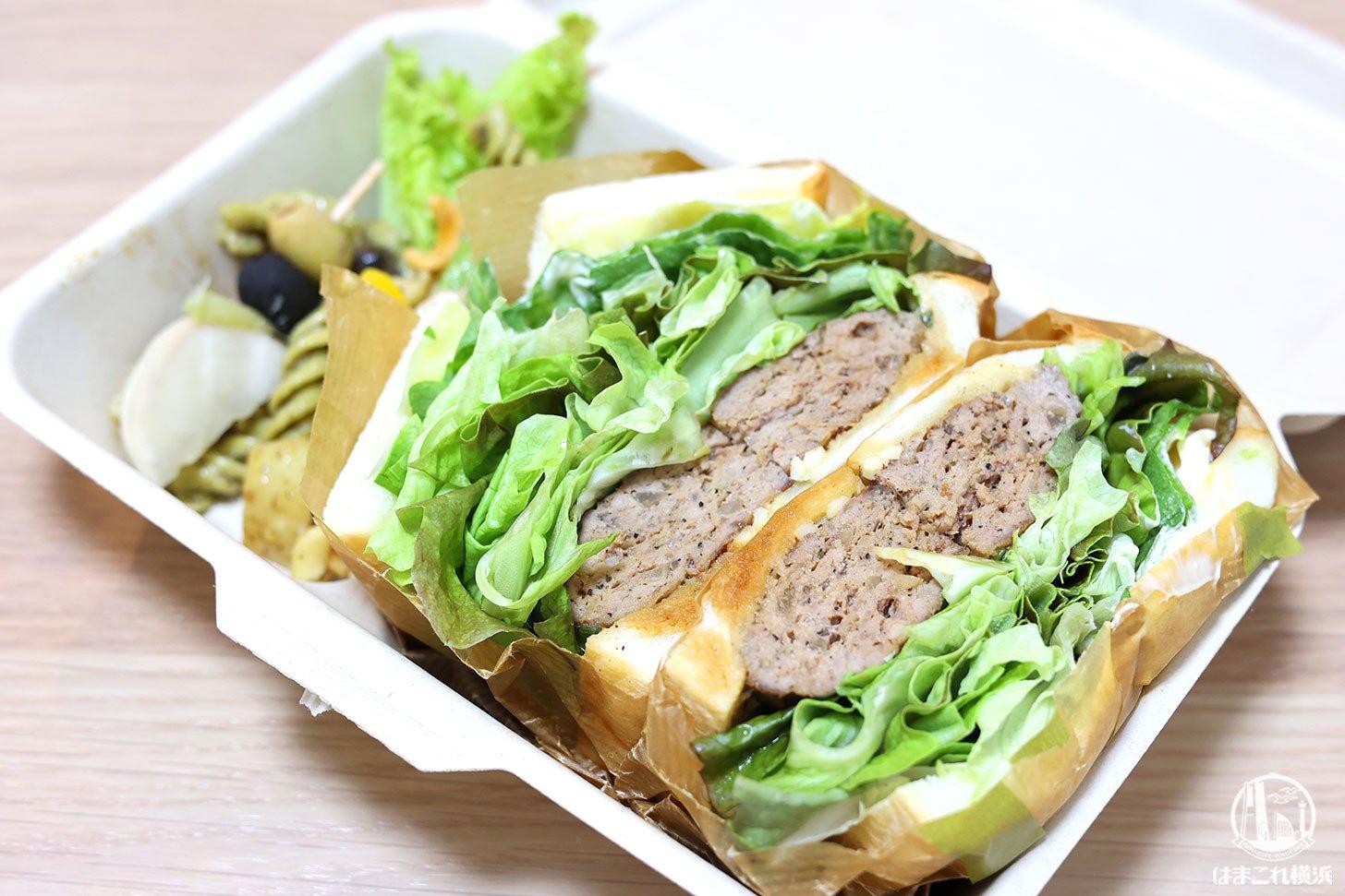"""シゲルキッチン横浜高島屋店のサンドイッチは""""鳥茂つくね""""凄すぎ!テイクアウト大満足"""